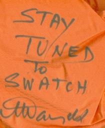 Swatch - Stay Tuned To                       Swatch
